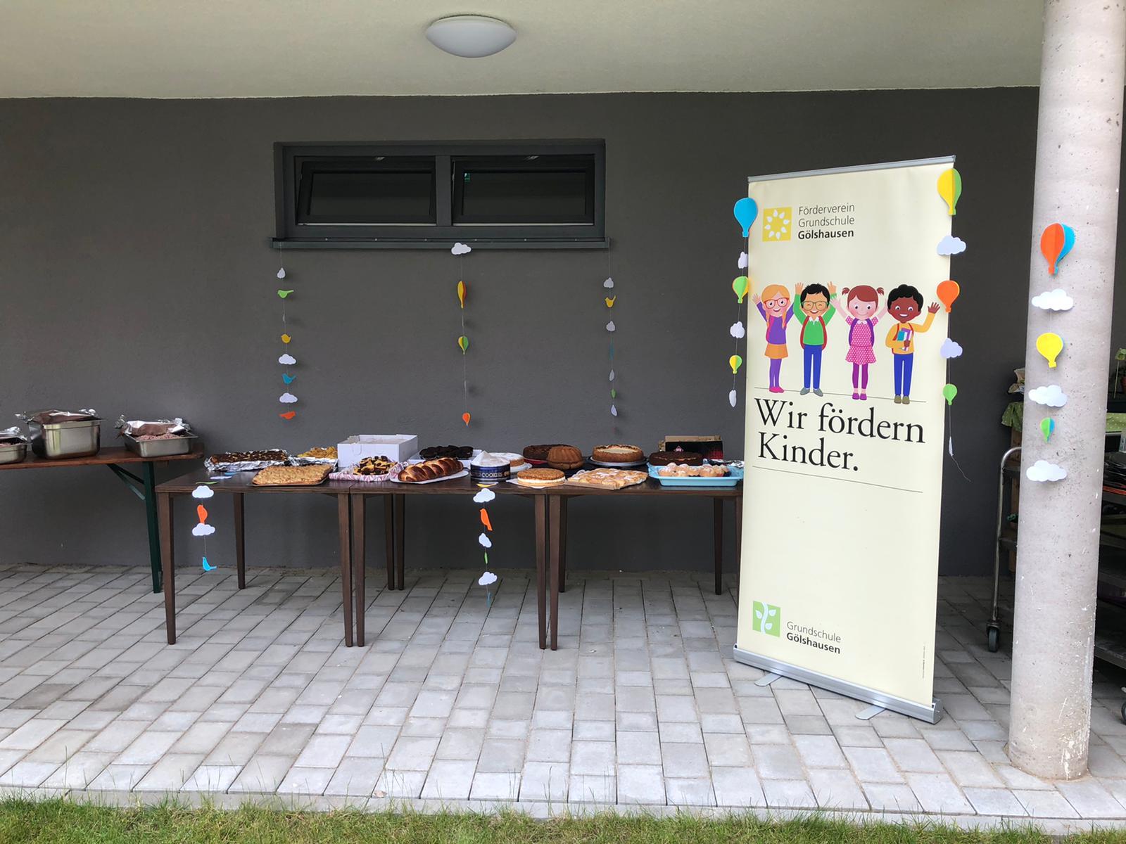 Spende des Förderverein Grundschule Gölshausen an das Evangelische Altenpflegeheim Bretten und das Seniorenzentrum Im Brückle